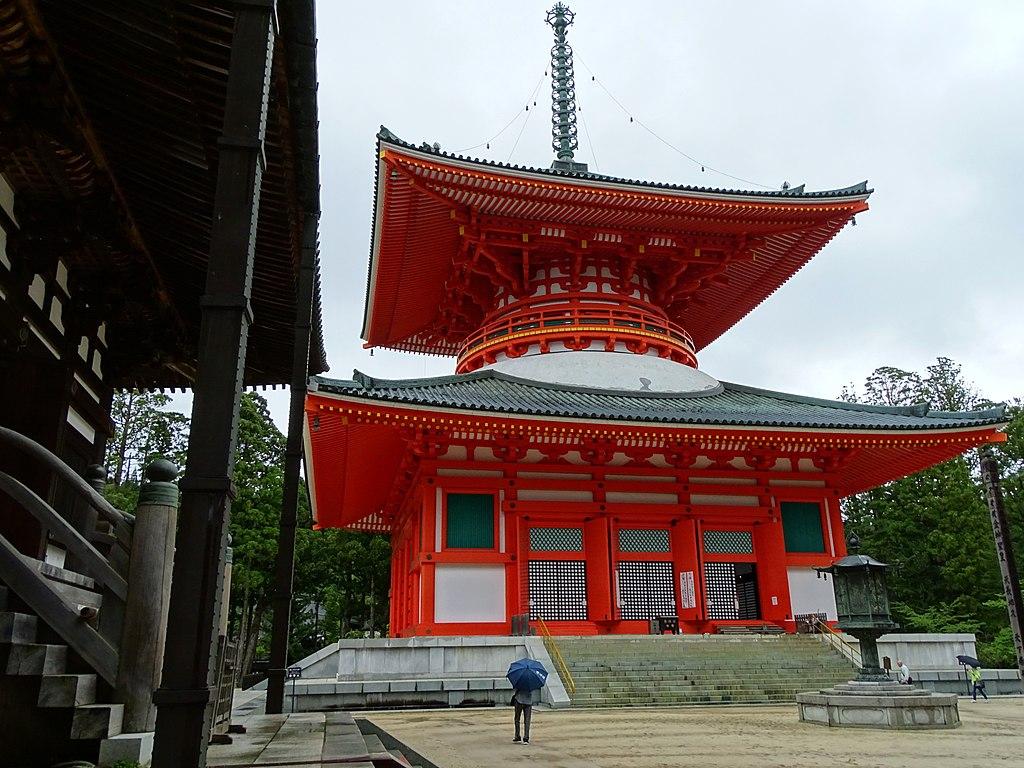 Konpon Daito Pagoda - Garan Complex - Koyasan - Japan (47950047772)