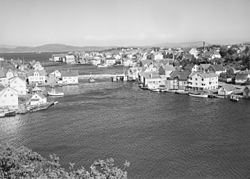 View of the town (before 1951)