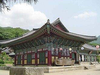 Songgwangsa - Image: Korea Songgwangsa 02