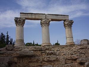 Säulenreste in Korinth