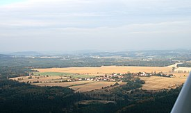 Kostelec nad Vltavou from air 1.jpg