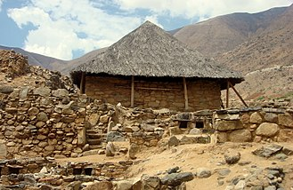 Asana, Peru - Kotosh style of structure of the pre-historic period