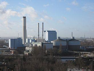 Billbrook - Tiefstack power plant in Billbrook