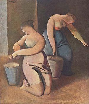 Swabbing by Rudolf Kremlička.