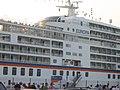 Kreuzfahrtschiff MS Europa erstmals in Flensburg (Flensburg 2005), Bild 02.jpg