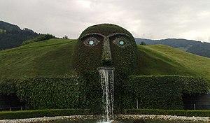 Swarovski - The centerpiece of the theme park