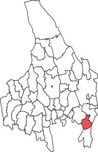 Kristinehamn by i Värmlands amt