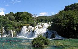 Vattenfall i Skradinski mave