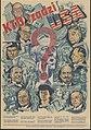 Kto rządzi USA? Henry Morgenthau, Walter Lippmann, Felix Frankfurter, Bernhard M. Baruch, David Sarnott, Sol Bloom, Chaim Weizmann, William Green, Miss Perkins, Adolf Zukor.jpg