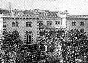 Kyriazi Freres - The Kyriazi Freres factory and gardens