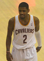 Kyrie Irving with the Cleveland Cavaliers