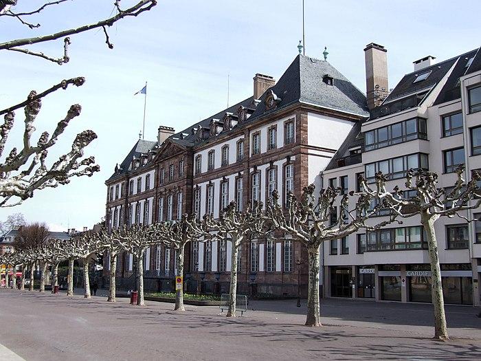 Ancien h tel de hanau monument historique strasbourg - Piscine a strasbourg ...