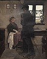 L.A. Ring, Husmandsfolk. Enø, 1898, KMS3146, Statens Museum for Kunst.jpg