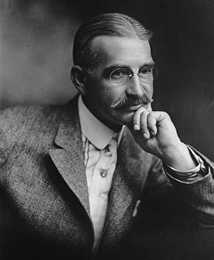 1911 in the United States -  L. Frank Baum, author of The Wonderful Wizard of Oz, in a 1911 photo.