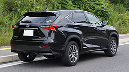 LEXUS NX300h Japan 2014 Rear.JPG
