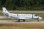 LX-SEH Cessna 560XL Citation KLS C56X - LXA (20516316154).jpg