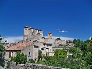 La Bastide-des-Jourdans - A chateau in La Bastide-des-Jourdans