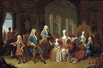 The Family of Philip V (1743) - The Family of Philip V in 1723