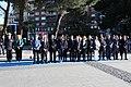 La plaza de Colón de Madrid acoge el izado de bandera en honor a San Isidro 04.jpg