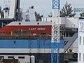 Lady Menna Name Sign Lahesuu sadam Tallinn 19 July 2017.jpg