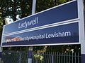 Ladywell station signage.JPG