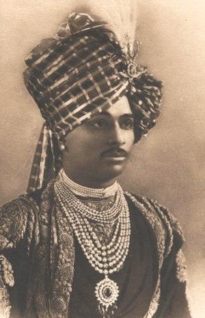 Thakur (title) - Thakur Lakhajirajsinhji II Bavajirajsinhji of Rajkot.