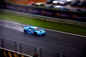 Sport in Sri Lanka - Dilantha Malagamuwa at the Lamborghini Super Trofeo world finals 2016, at the Circuit Ricardo Tormo in Valencia, Spain