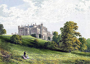 Lambton Castle in the late 19th century.