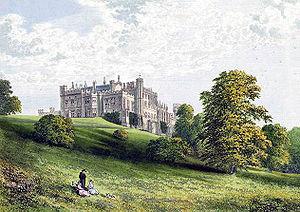 Lambton Castle - Image: Lambton Castle Durham Morris edited