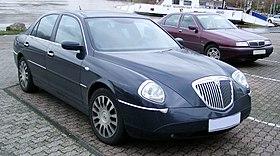 Lancia Thesis Interior