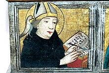 Augustinus als Kirchenlehrer, 1440, Stadtkirche Langenzenn (Quelle: Wikimedia)
