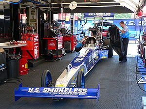 Larry Dixon (dragster driver) - 2008 U.S. Smokeless Tobacco dragster