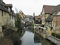 Lauch, petite Venise, collégiale Saint-Martin (Colmar) (1).JPG