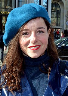 Laure Calamy French film and theatrical actress