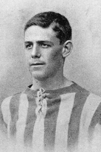 Lawrence Bell (footballer) - Bell while with West Bromwich Albion in 1904.