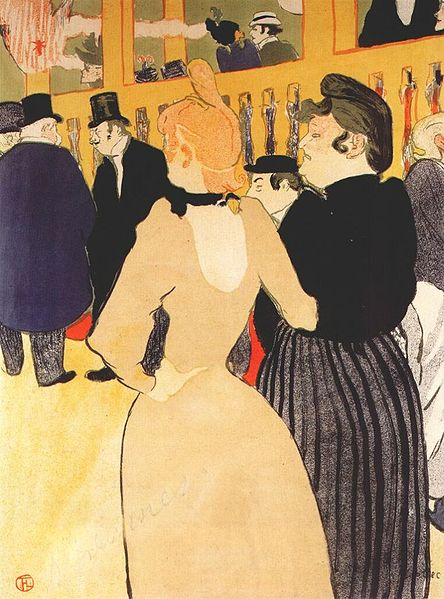 File:Lautrec at the moulin rouge, la goulue and mome fromage 1892.jpg