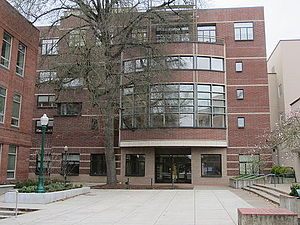 University of Oregon College of Design - Lawrence Hall, the main building of UO Design