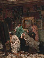 Une Collection de peintures au temps d'Auguste