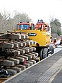 Laying a new track at Reedham station - geograph.org.uk - 1754267.jpg