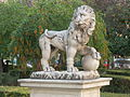 León del Patio del Archivo de Indias, Sevilla.JPG