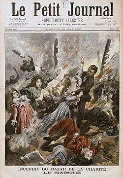 Bazar de la charit wikip dia - Le journal du pays d auge ...