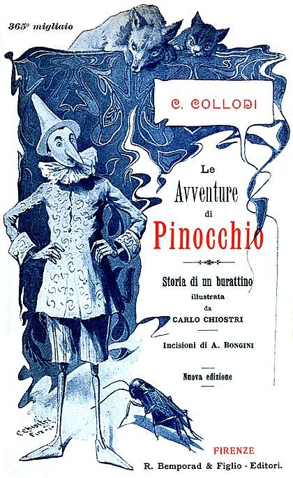 Les Aventures de Pinocchio - Carlo Collodi (trad. Sartirano + illustrations)