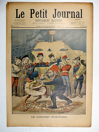 Greco-Turkish War (1897) - The Greco-Turkish war of 1897 on the cover of Le Petit Journal