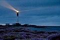 Le phare de Sein, sous le grain....jpg