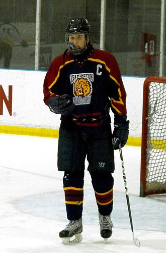 Leamington District Secondary School - Lions player in 2014.
