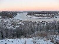 Ledostav on Volga river in Zubtsov tver oblast.jpg