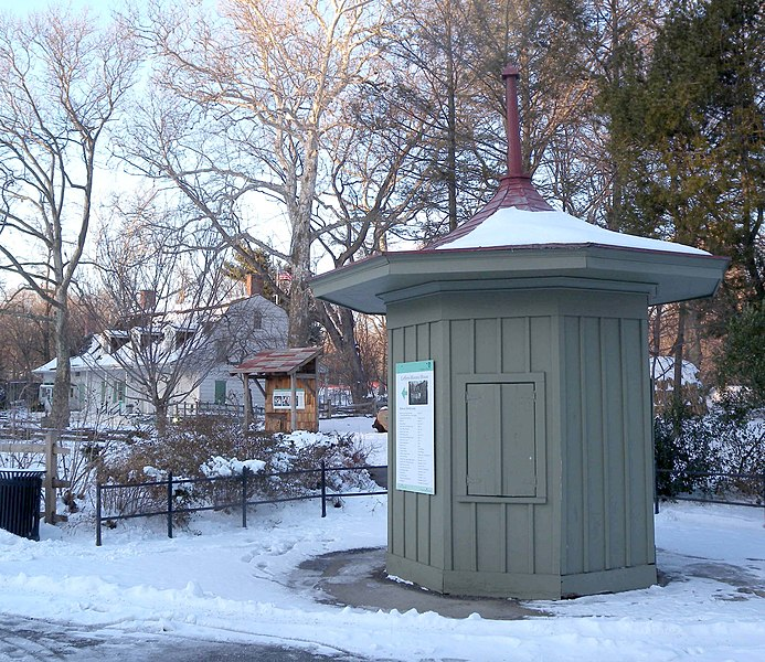 Fichier:Lefferts toll booth snow jeh.JPG