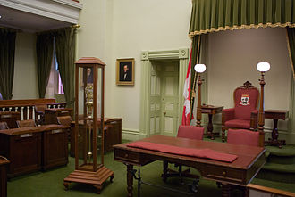 Legislative Assembly of Prince Edward Island - Legislative Assembly Chamber