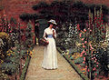 Leighton-Lady in a Garden.jpg