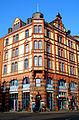 Leinstraße 25 Hannover denkmalgeschütztes Eckgebäude 1891 1892 von Riesle & Rühling als Teil des Doppelhauses.jpg